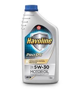 Kit de 4 Litros Havoline 5W30 Sintético + Filtro de óleo Grátis