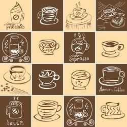 Adesivo para Azulejo Coffe