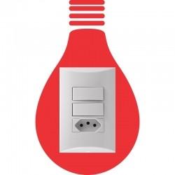 Adesivo para Interruptor Lâmpada