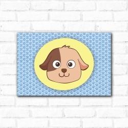 Placa Decorativa Porta Retrato Cachorro