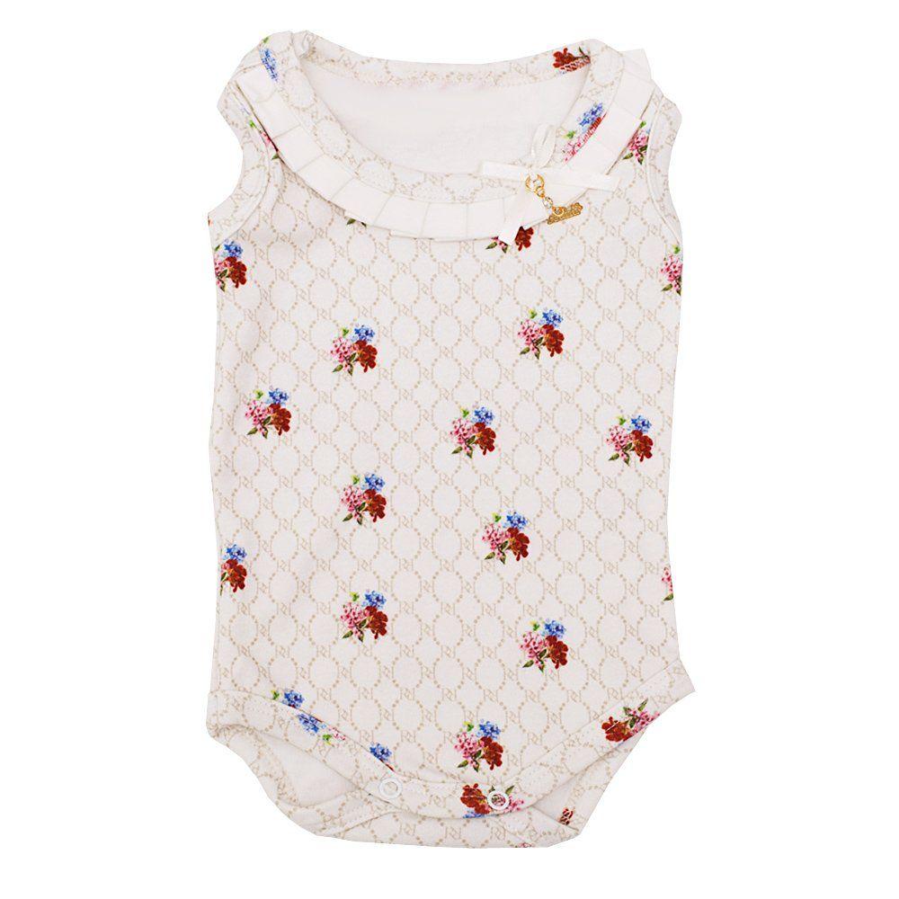Conjunto bebê com body e calcinha - Mafim