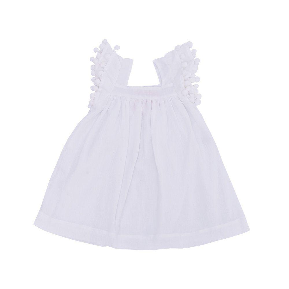 Vestido bebê - Branco